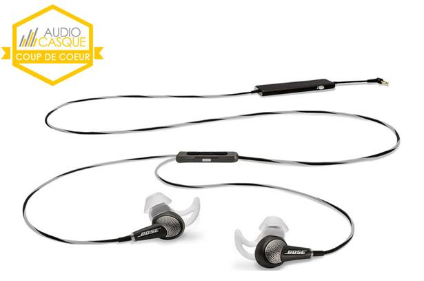 Test écouteurs Bose QuietComfort 20 avec réduction active du bruit