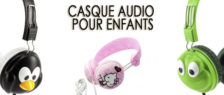 Les meilleurs casques audio pour enfants