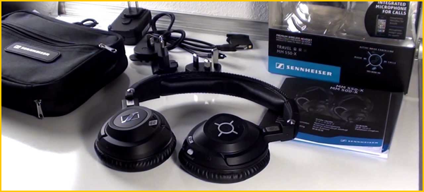 sennheiser mm 550 x test complet bluetooth et. Black Bedroom Furniture Sets. Home Design Ideas