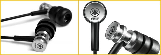 Ecouteurs musique Yamaha