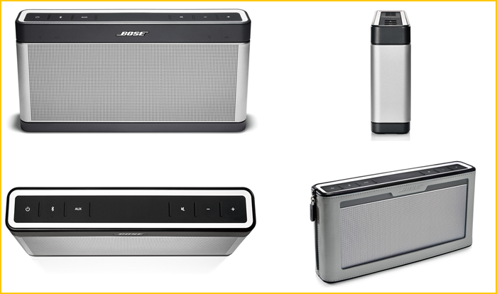 Enceintes Bose Soundlink Bose Soundlink Iii ~ Enceinte Bluetooth Bois
