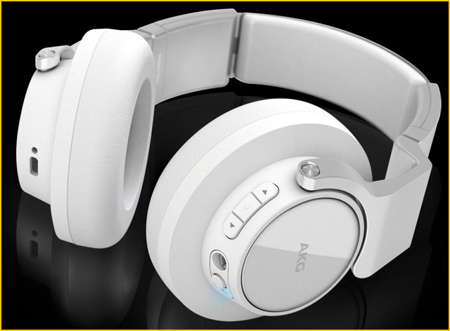 Casque Bluetooth Blanc