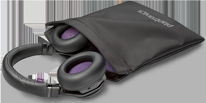 Casque Bluetooth avec étui de protection