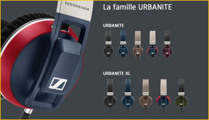 Casque Sennheiser Urbanite XL