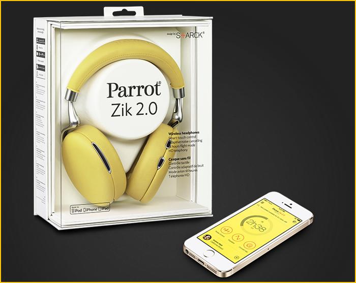 Unboxing Parrot Zik 2.0