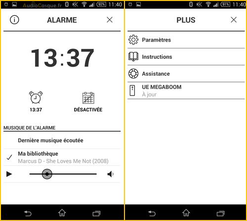 App Mobile Enceinte sans fil