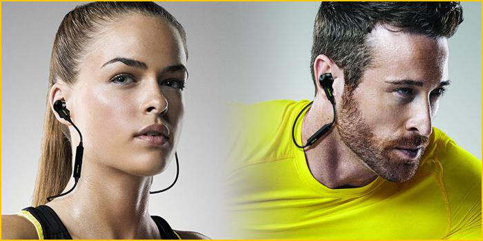 Ecouteurs Sport avec moniteur cardiaque