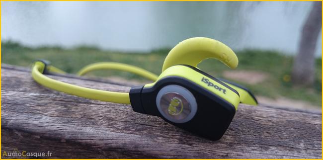 Ecouteurs sans fil pour le sport