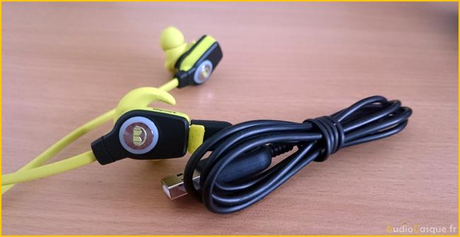 Rechargement par cable USB