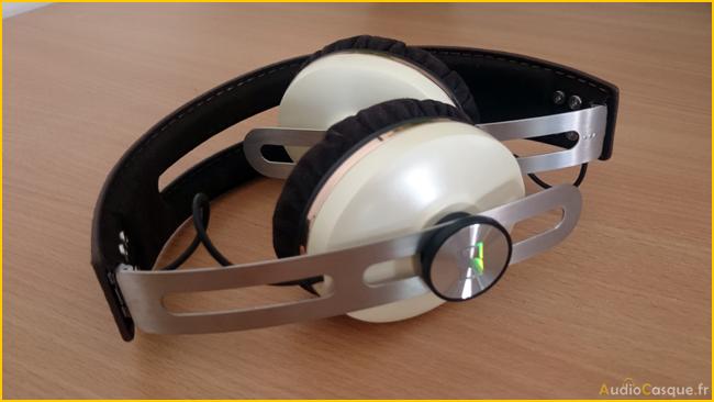 Casque audio pliable et compact