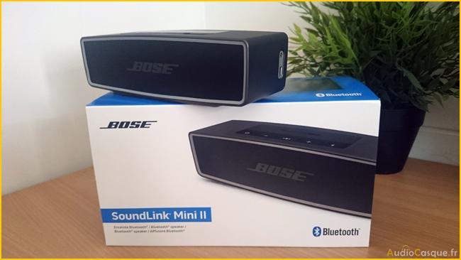 Essai de la Bose SoundLink Mini II