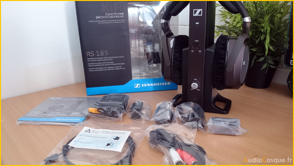 Unboxing Sennheiser RS 185