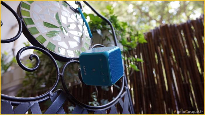Accroche pour haut parleur Bluetooth