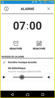 App alarme
