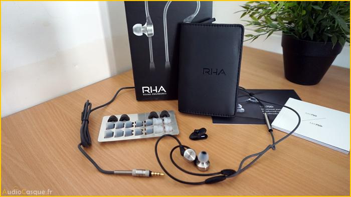 Unboxing RHA MA750i