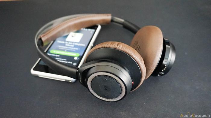 Casque Bluetooth au design rétro
