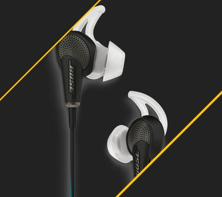 Bose QC20, les meilleurs écouteurs a réduction de bruit