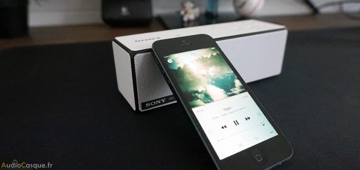 Enceinte sans fil pour Smartphone