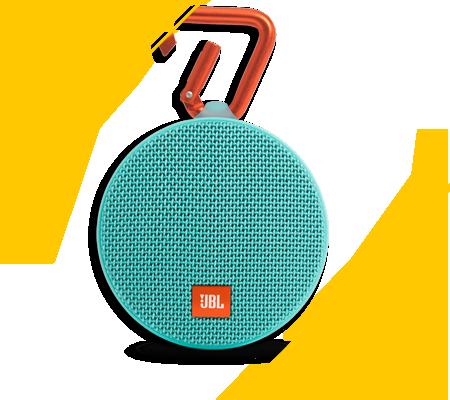 JBL Clip 2, l'enceinte portable qui vous suit partout !