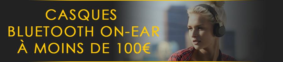 Les meilleurs casques bluetooth on-ear à moins de 100€
