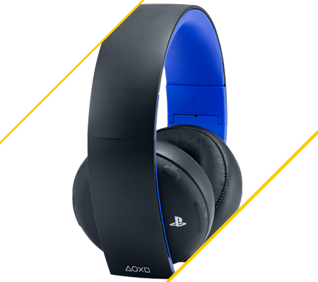 Sony Gold Wireless, le casque officiel pour PS4