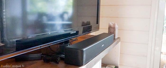 Améliorer le son TV avec une barre de son