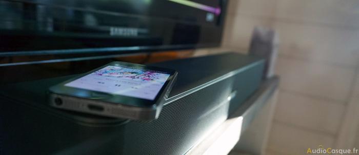 Barre de son compatible Bluetooth