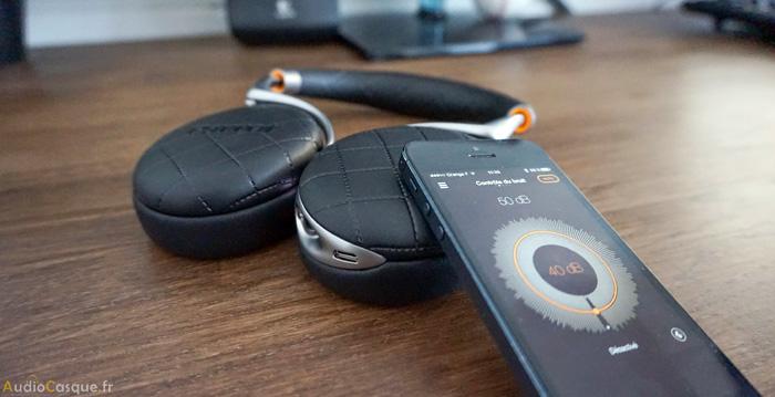 Casque Bluetooth avec réduction active du bruit