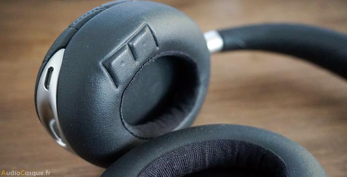 Casque audio avec capteur de mouvements