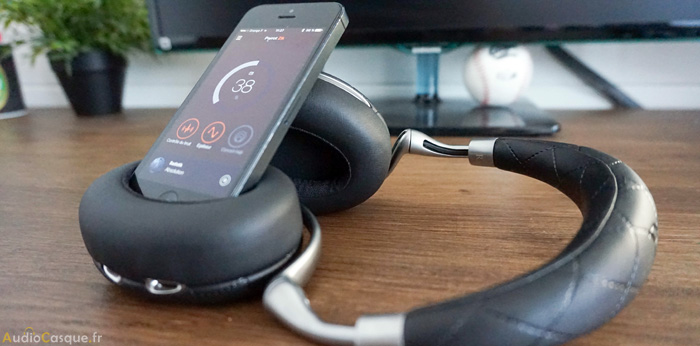 Casque Bluetooth avec application mobile