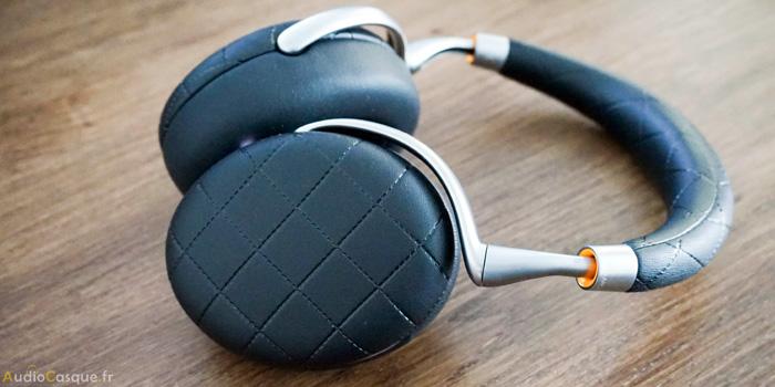 Casque Bluetooth avec des commandes tactiles