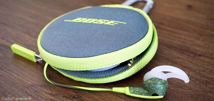 Essai des écouteurs Bose SoundSport
