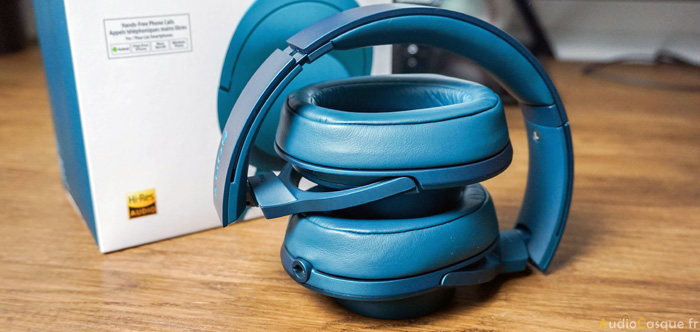 Casque audio pliable de Sony