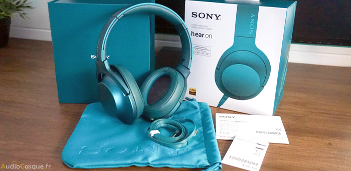 Unboxing du Sony MDR-100AAP h.ear on