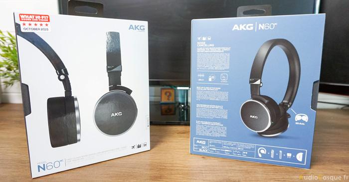 Présentation du casque AKG N60NC