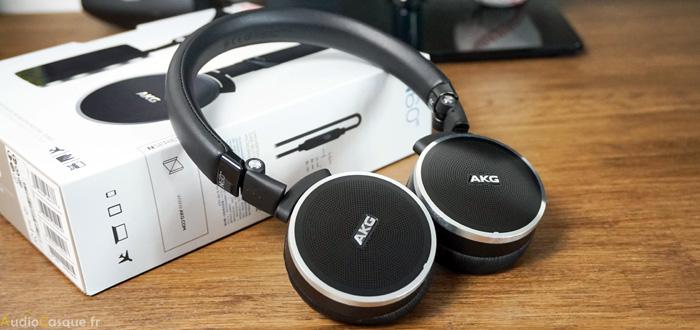 Casque AKG avec réduction de bruit active