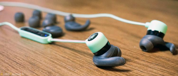 Ecouteurs avec embouts supplémentaires