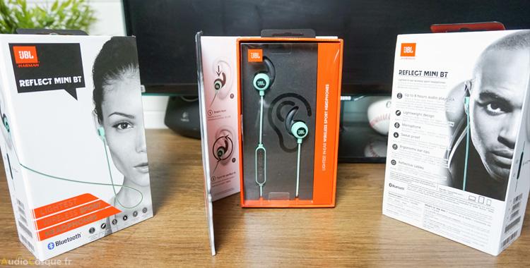 Packaging des écouteurs
