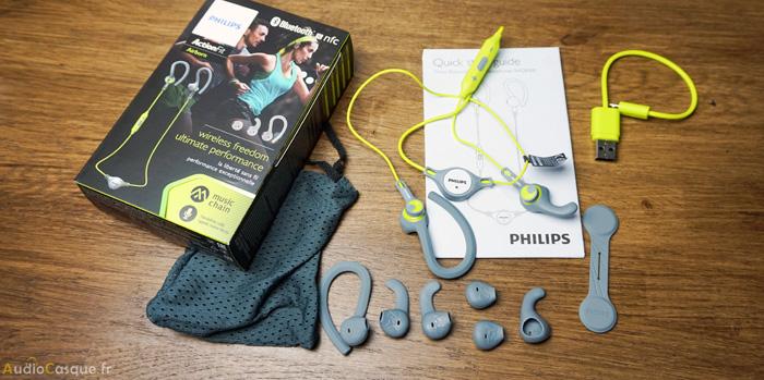 Unboxing Philips ActionFit SHQ8300LF