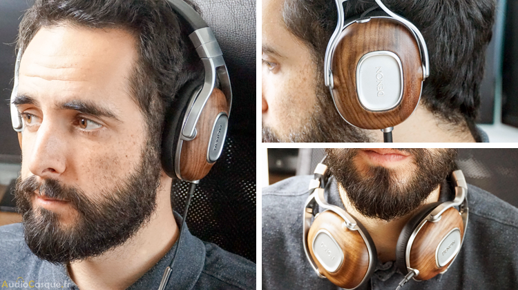Casque audio léger et confortable