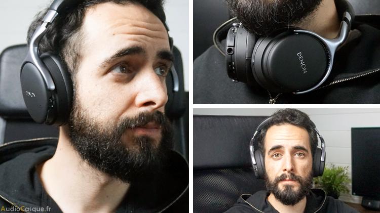 Casque audio confortable