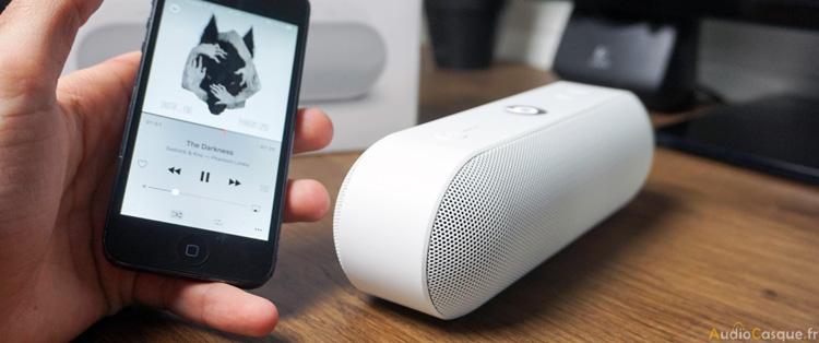 Enceinte portable Beats et Apple