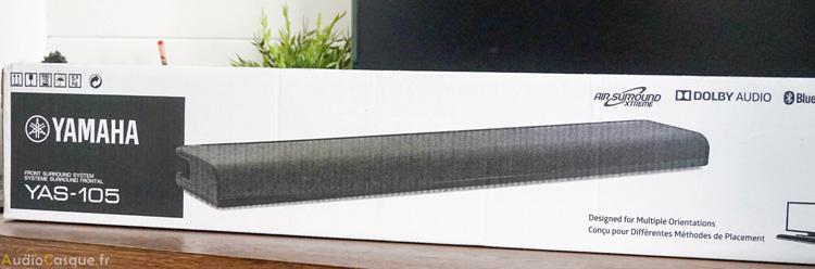 Packaging de la barre de son