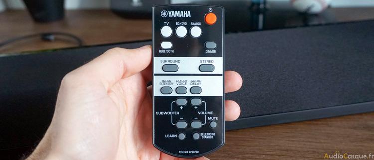 Télécommande de la Yamaha YAS-105