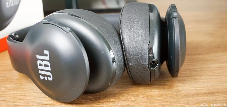 Connectique du casque sans fil