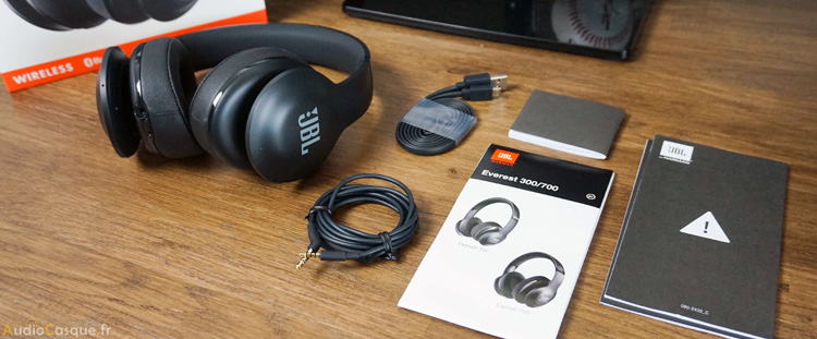 Unboxing du JBL Everest 700