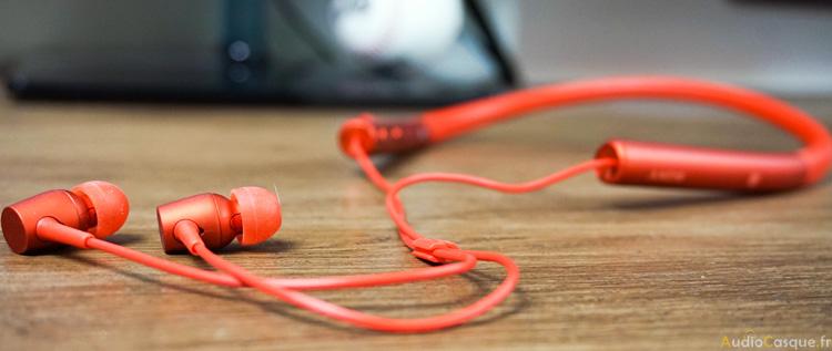 Ecouteurs sans-fil tour de cou