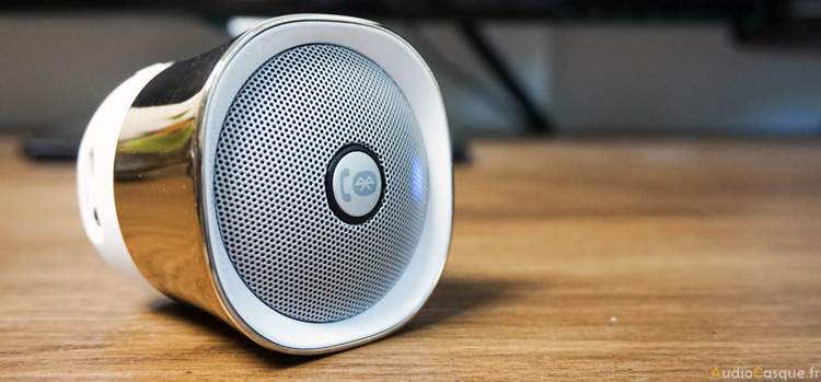 Enceinte Bluetooth portable de chez Creative