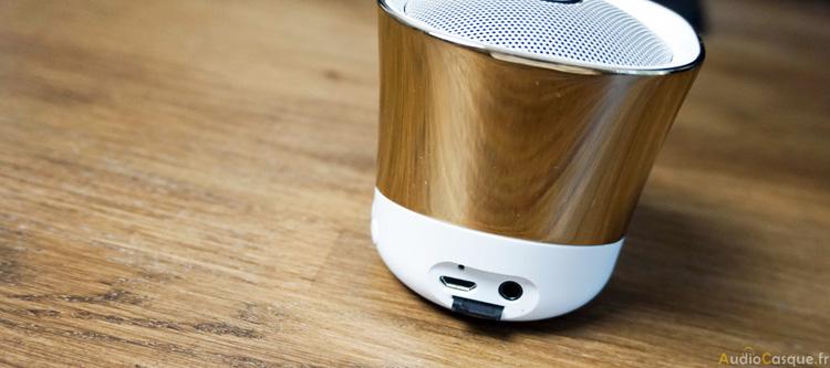 Enceinte Bluetooth avec lecteur carte SD