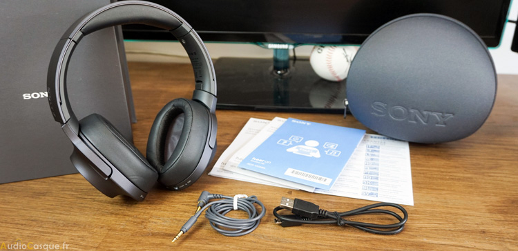 Unboxing du Sony MDR-100ABN